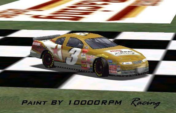 1000 rpms race car...